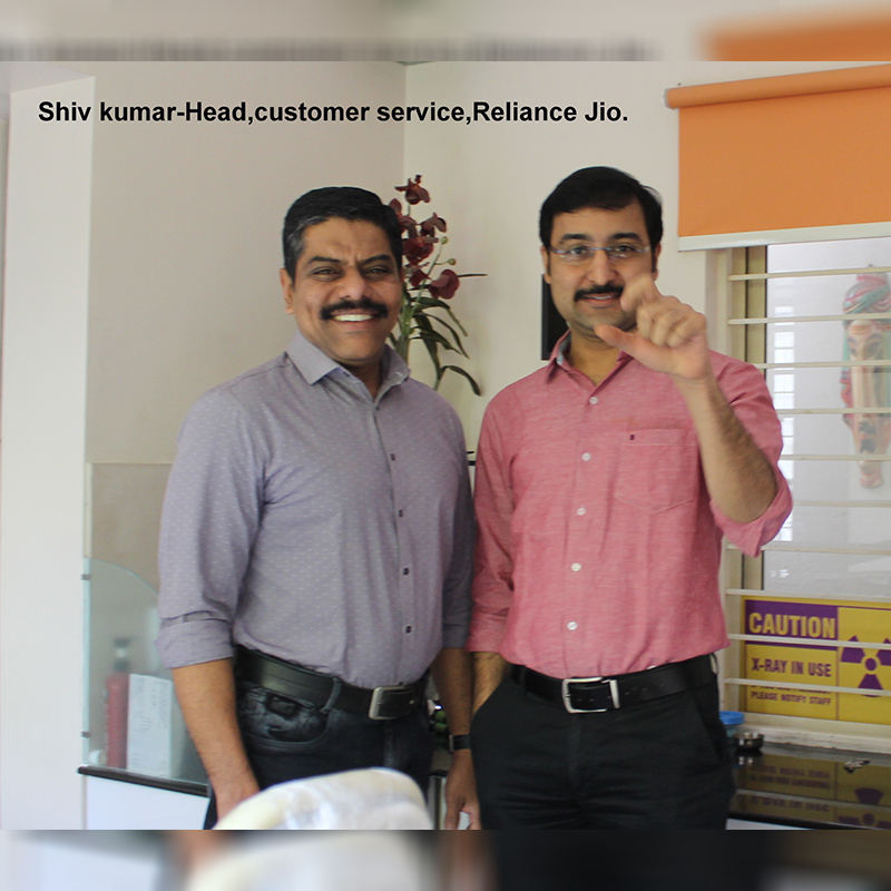 Shiv Kumar - Head, Customer Service, Reliance jio