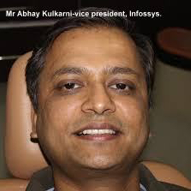 Dr. Abhay Kulkarni, Vice President, Infosys