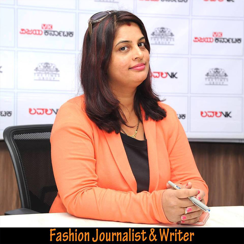 Sheela Shetty, Fashion Journalist & Writer
