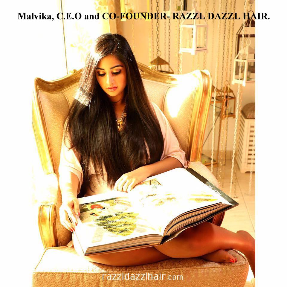 Malvika , CEO & Co-Founder, RAZZL DAZZL HAIR