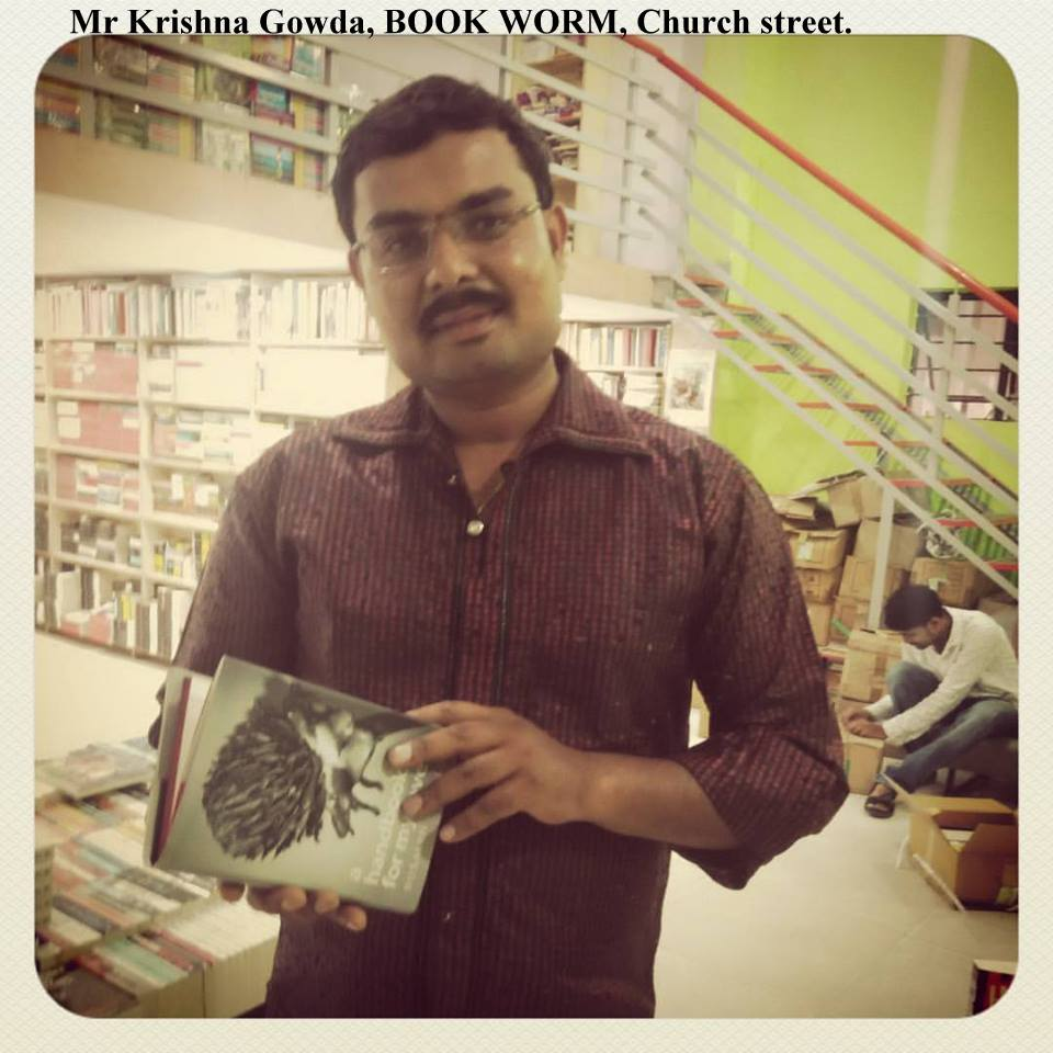 Mr. Krishna Gowda, Book Worm , Church Street